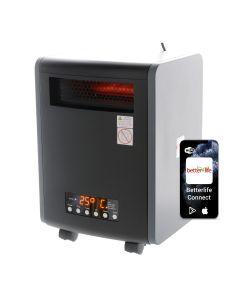 Estufa Infrarroja Smarthome UV 100m² Betterlife BL2000UV-PS