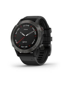 Fenix 6 Sapphire Gray w/Black Band South America en Garmin