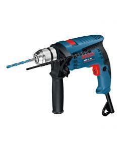 Taladro + Maletín Bosch GSB 13 RE 650 W Azul