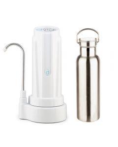 Filtro Purificador De Agua DVIGI + Botella Benjamina Blanco