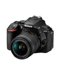 Cámara Fotográfica Reflex Nikon D5600 + Lente 18-55mm Negro