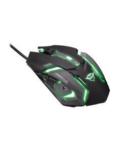 Kit Teclado Y Mouse Trust Gxt 845 Luz 7 Colores Negro