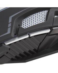 Mouse Gamer Marvo Luces De Colores G904 Negro 4000 Dpi
