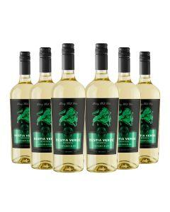 6 Botellas Vino Bestia Verde Reserva Sauvignon Blanc