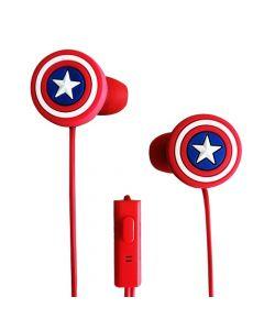 Audífonos In Ear Capitan América Disney EB2-01043-CA-ESP
