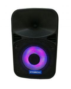 Parlante Bluetooth Hyundai Hy-A8bw 50w Luces Y Micrófono