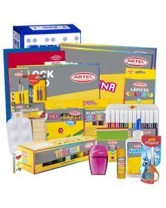 Pack Pre Escolar Premium Librería Nacional Pre-kinder/Kinder