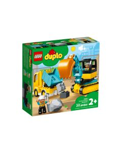 Camión y Excavadora con Orugas LEGO DUPLO