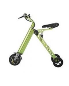 Bicicleta Eléctrica Lhotse E-Bikes Plegable Verde