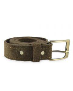 Cinturón Rupestre Cuero Reno Moro M
