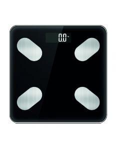 Balanza Digital HouseHold Bluetooth Vidrio Templado Negro