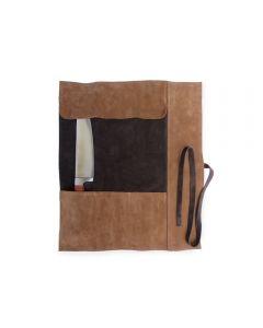 Porta Cuchillos Rupestre 3 Unidades Café Oscuro