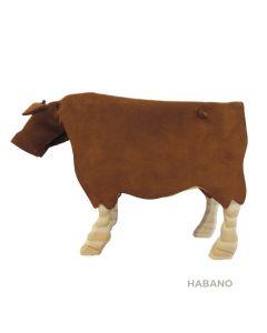 Alcancía Rupestre Vaca Flaca Habano