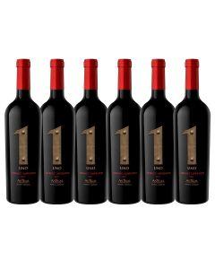Promo Pack 6 vinos Uno Premium Cab. Sauvignon + Regalo Pack 6 Vinos Conde de Marras