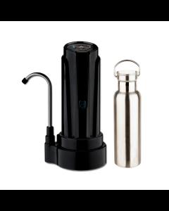 Filtro Purificador De Agua DVIGI + Botella Benjamina Negro