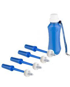 Botella Purificadora DVIGI Mod: BOT + 4 Repuestos Azul