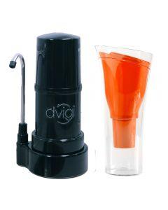 Filtro Purificador De Agua DVIGI + Jarro Purificador Naranja