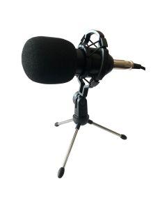 Pack De Micrófono De Condensador Rhino 74RHICPACK02 Negro