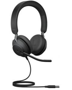 Audífonos Estéreo Jabra Evolve2 40MS USB-A Negro