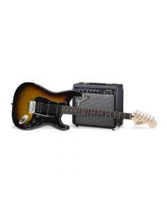 Pack De Guitarra Stratocaster Squier Hss Affinity Sunburst