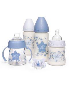 Set Mamaderas Suavinex Estrellas Azules