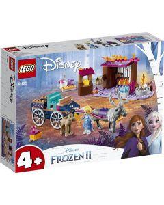 Lego Aventura En Carreta De Elsa