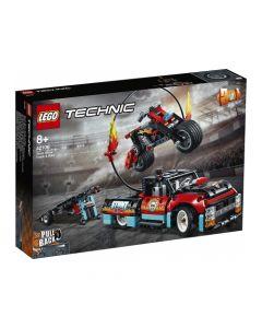 Lego Espectáculo Acrobático: Camión Y Moto