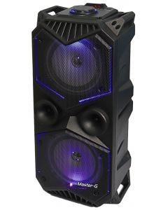 Parlantes Karaoke Bluetooth Master G – Negro