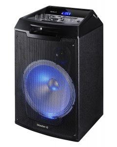 Parlantes Karaoke Bluetooth Master G Viper – Negro