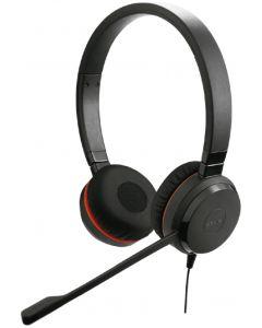 Audífonos Estéreo Jabra Evolve 20SE MS Negro