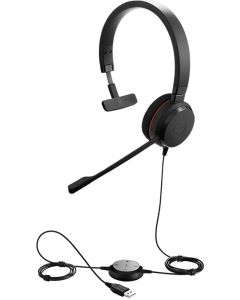 Audífonos Mono Jabra Evolve 30 II MS Negro