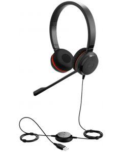Audífonos Estéreo Jabra Evolve 30 II MS Negro