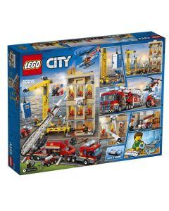 Lego Brigada De Bomberos Del Distrito Centro