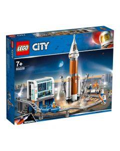 Lego Cohete Espacial De Larga Distancia Y Centro De Control