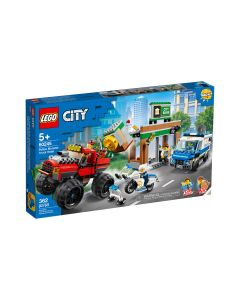 Policía: Atraco del Monster Truck LEGO CITY