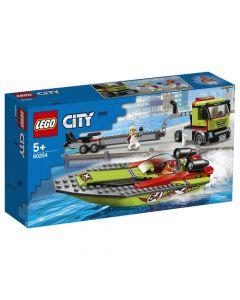 Lego Transporte De La Lancha De Carreras