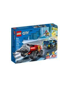 Policía de Élite: Persecución de la Perforadora LEGO CITY