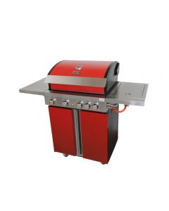 Parrilla a Gas Ursus Trotter UT BBQ K4B - A Rojo
