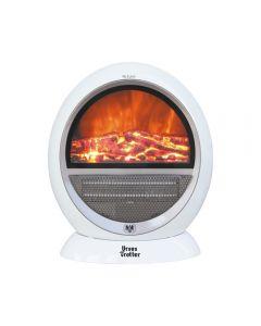 Calefactor Eléctrico Ursus Trotter UT FIRE - 1500 W Blanco