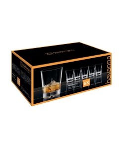 Set 6 Vasos Cristal Nachtmann Havanna Whisky