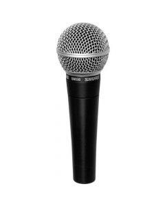 Micrófono Vocal Shure SM58LC Negro