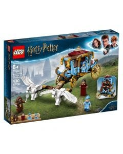Lego Carruaje De Beauxbatons: Llegada A Hogwarts