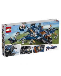 Lego Quinjet Definitivo De Los Vengadores