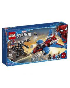 Lego Jet Arácnido Vs. Armadura Robótica De Venom