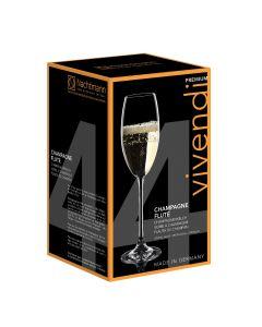 Set 4 Copas Cristal Nachtmann Champagne Vivendi 272 ml