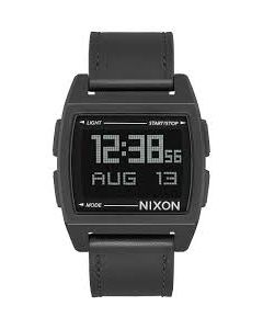 Reloj Base Leather All Black Nixon