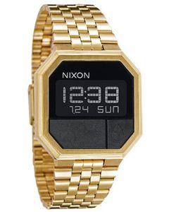 Reloj Nixon Re-Run M - All Gold