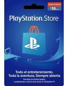 Gift Card PSN $10 USD Chile