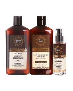 Pack Argan Oil Shampoo + Acondicionador + Serúm Damage