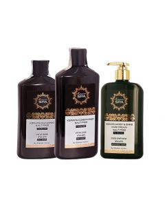 Pack Keratine Shampoo + Acondicionador + Moist&Shine Dry